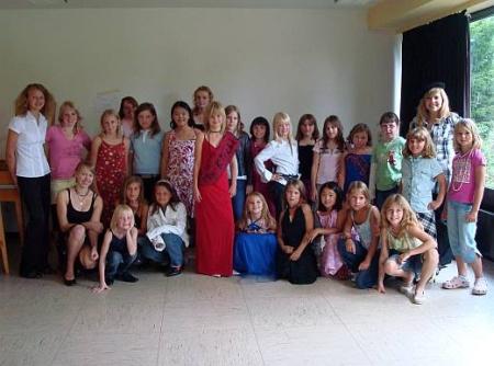 Gruppenbild Mädchenjungschar