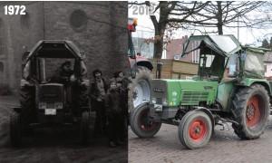 Trecker im Vergleich 1972/2012