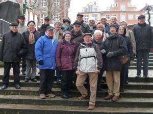 Gruppenbild Familienkreis Weihnachtsmarkt Paderborn 2012